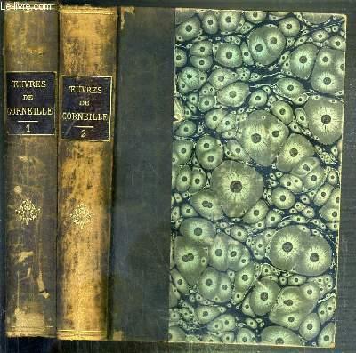 OEUVRES DE CORNEILLE D'APRES L'EDITION DE 1764 - 2 TOMES - 1 + 2