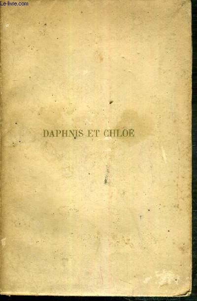 DAPHNIS ET CHLOE - COMPOSITIONS DE RAPHAEL COLLIN - EXEMPLAIRE N°65 / 1000 SUR PAPIER VELIN DE CUVE DES PAPETERIES DU MARAIS - 3 photos disponibles.