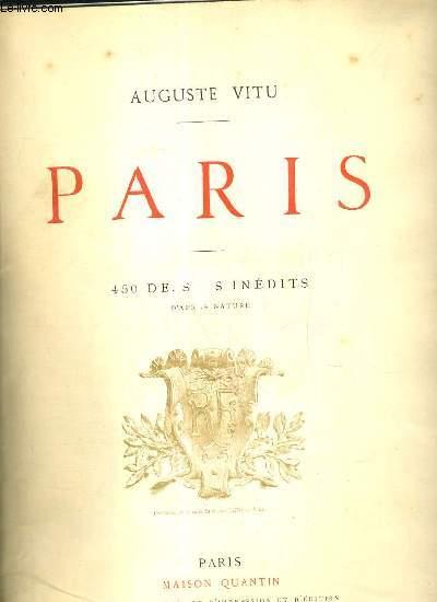 PARIS - 450 DESSINS INEDITS D'APRES NATURE - 2 photos disponibles.