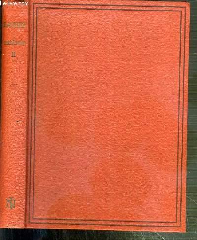 THEATRE DE RACINE - TOME II - ENDROMAQUE - LES PLAIDEURS - BRITANNICUS.