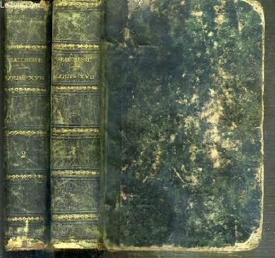 LOUIS XVII - SA VIE, SON AGONIE, SA MORT - CAPTIVITE DE LA FAMILLE ROYALE AU TEMPLE - 8eme EDITION ENRICHIE D'AUTOGRAPHES, DE PORTRAITS ET DE PLANS ET PRECEDEE D'UNE LETTRE DE Mgr DUPANLOUP - 2 TOMES - 1 + 2