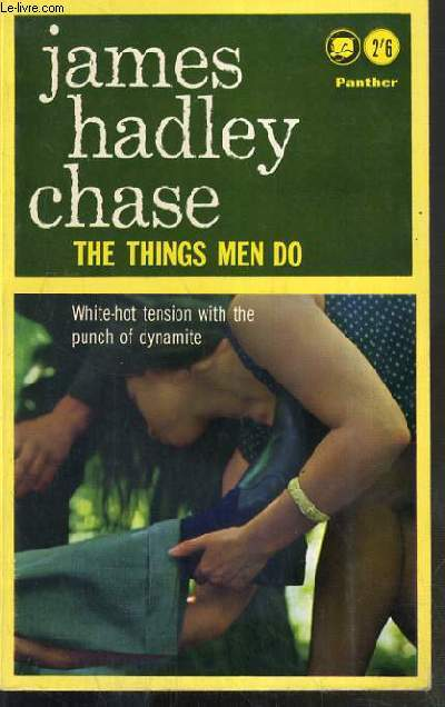 THE THINGS MEN DO - TEXTE EXCLUSIVEMENT EN ANGLAIS.