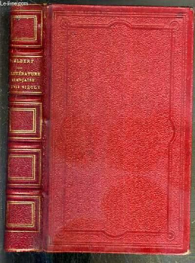 LA LITTERATURE FRANCAISE AU DIX-SEPTIEME SIECLE - 2eme EDITION