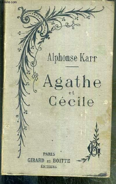AGATHE ET CECILE - NOUVELLE EDITION