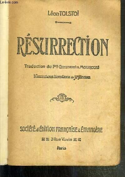 RESURRECTION / COLLECTION DES GRANDS ROMANS LITTERAIRES.