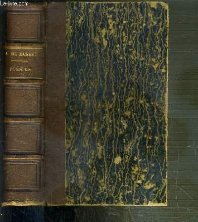 PREMIERES POESIES DE ALFRED DE MUSSET 1829-1835 + POESIES NOUVELLES DE ALFRED DE MUSSET 1836-1852 - NOUVELLE EDITION