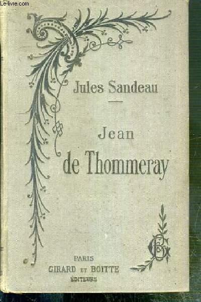 JEAN DE THOMMERAY - LE COLONEL EVRARD PAR JULES SANDEAU - NOUVELLE EDITION