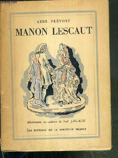 HISTOIRE DU CHEVALIER DES GRIEUX ET DE MANON LESCAUT / COLLECTION VARIETE.