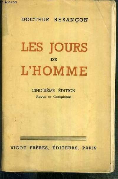 LES JOURS DE L'HOMME - 5eme EDITION