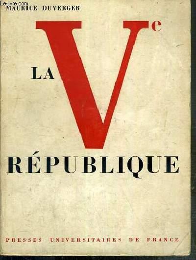 LA Ve REPUBLIQUE - 4eme EDITION REFONDUE.