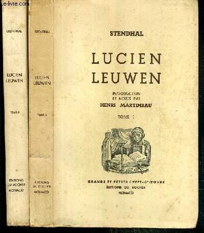 LUCIEN LEUWEN - 2 TOMES - 1 + 2  / COLLECTION GRANDS ET PETITS CHEFS-D'OEUVRE -  EXEMPLAIRE N°4681 / 5550 SUR VERGE CREME DES PAPETERIES JOHANNOT.