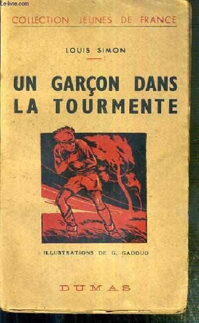 UN GARCON DANS LA TOURMENTE / COLLECTION JEUNES DE FRANCE