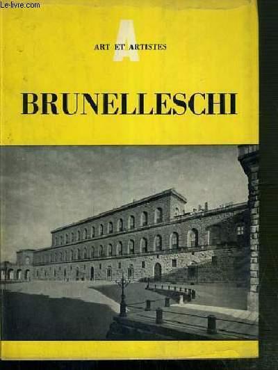BRUNELLESCHI 1377-1446 - ART ET ARTISTES - SERIE LES ARCHITECTES -  legende ci-dessous traduites en: ITALIEN - ANGLAIS - FRANCAIS ET ALLEMAND.