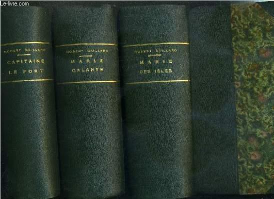 MARIE DES ISLES - 3 TOMES - I + II + III