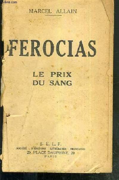 FEROCIAS - LE PRIX DU SANG