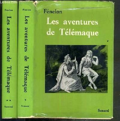 LES AVENTURES DE TELEMAQUE - 2 TOMES - 1 + 2