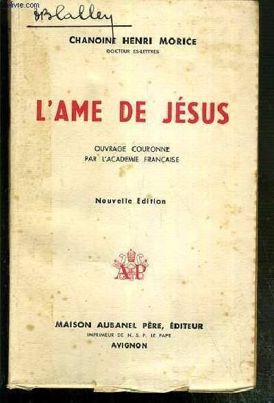 L'AME DE JESUS - NOUVELLE EDITION