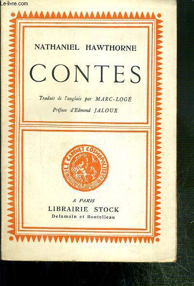 CONTES - EXEMPLAIRE N°464 / 2700 - COLLECTION LE CABINET COSMOPOLITE N°10.