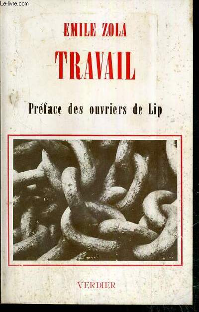 TRAVAIL - TOME 1