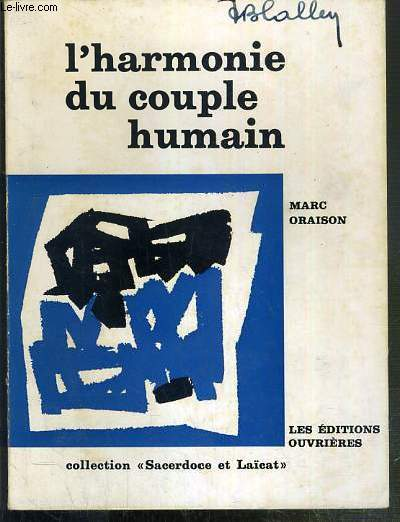 L'HARMONIE DU COUPLE HUMAIN / COLLECTION SACERDOCE ET LAICAT