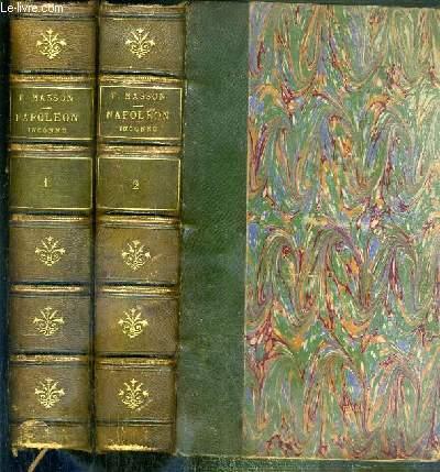 NAPOLEON INEDITS - PAPIERS INEDITS (1786-1793) - ACCOMPAGNES DE NOTES SUR LA JEUNESSE DE NAPOLEON (1769-1793) - 2 TOMES - 1 + 2 - 6eme EDITION - 6 photos disponibles dont la table des matieres de chaque tome.