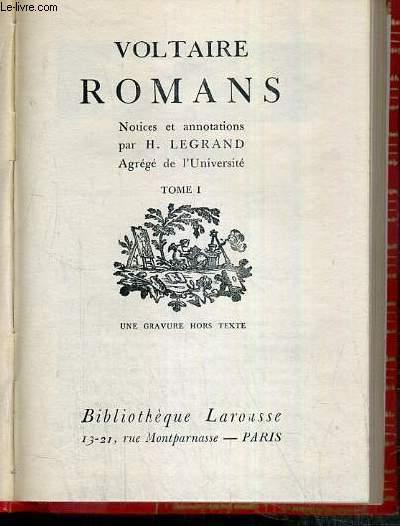 ROMANS - TOME I