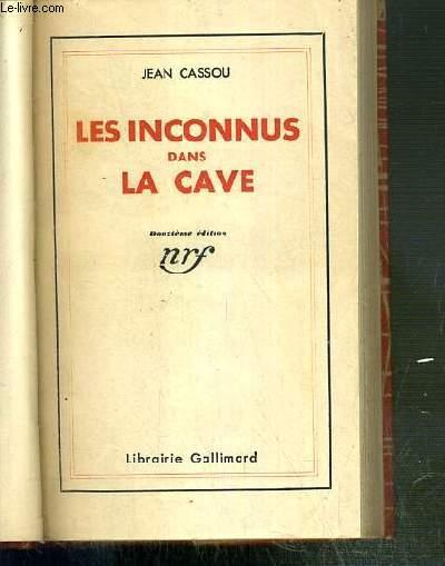 LES INCONNUS DANS LA CAVE - 12eme EDITION.