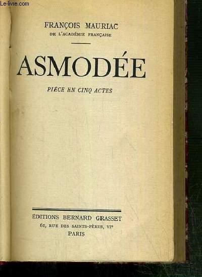 ASMODEE - PIECE EN CINQ ACTES