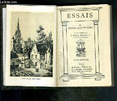 ESSAIS - TOME DEUXIEME