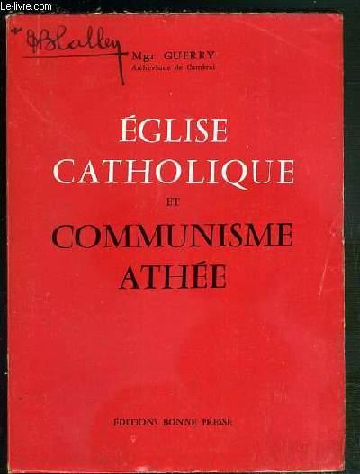 EGLISE CATHOLIQUE ET COMMUNISME ATHEE