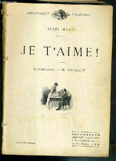 JE T'AIME ! / BIBLIOTHEQUE