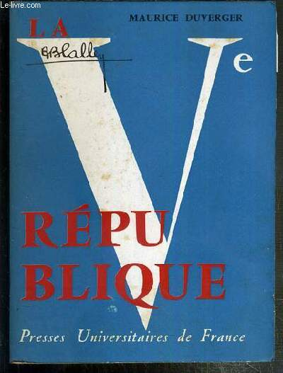 LA Ve REPUBLIQUE