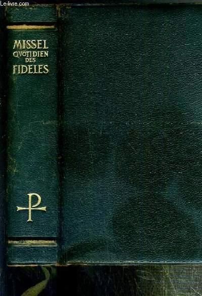 MISSEL QUOTIDIEN DES FIDELES - N° 323 V. - VESPERAL - RITUEL - RECUEIL DE PRIERES