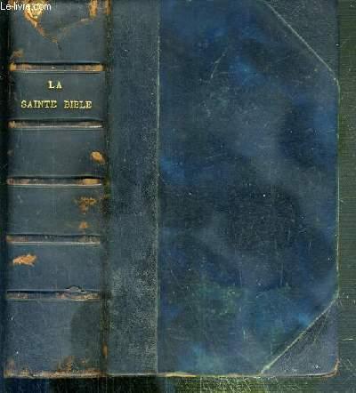 LA SAINTE BIBLE - N° 565 - TRADUCTION D'APRES LES TEXTES ORIGINAUX PAR LE CHANOINE A. CRAMPON - NOUVELLE EDITION REVISEE PAR DES PROFESSEURS D'ECRITURE SAINTE DE LA COMPAGNIE DE JESUS