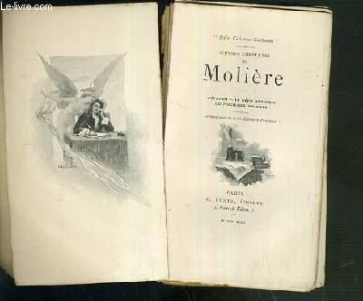 OEUVRES COMPLETES DE MOLIERE - TOME I. L'ETOURDI - LE DEPIT AMOUREUX - LES PRECIEUSES RIDICULES / PETIT COLLECTIF GUILLAUME.