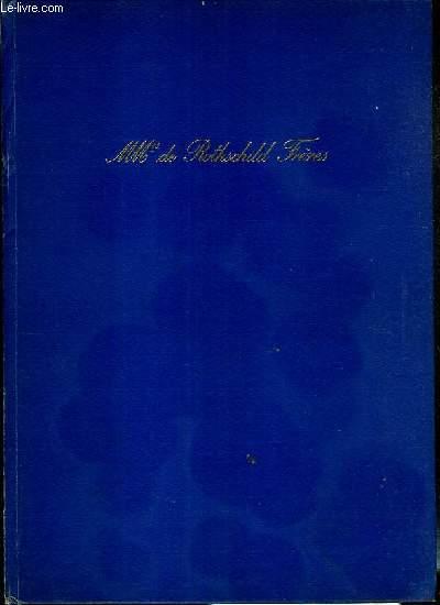 CES MESSIEURS DE ROTHSCHILD - 1817-1967 - CENT-CINQUANTENAIRE DE MMrs DE ROTHSCHILD FRERES.