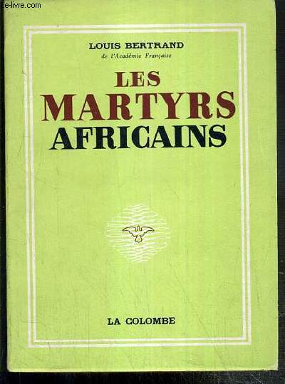 LES MARTYRS AFRICAINS