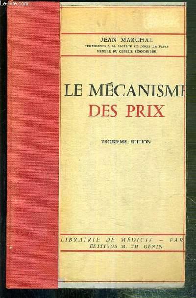 LE MECANISME DES PRIX - 2eme EDITION