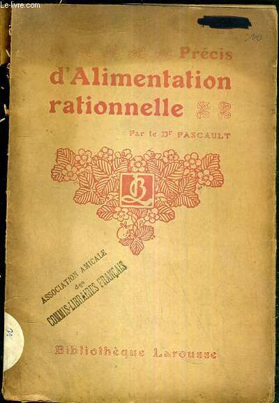 PRECIS D'ALIMENTATION RATIONNELLE