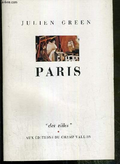 PARIS / COLLECTION DES VILLES N°1.