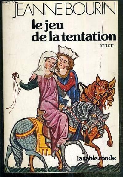 LE JEU DE LA TENTATION - ENVOI DE L'AUTEUR.
