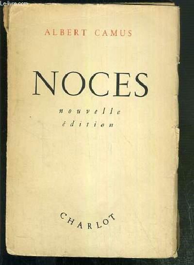 NOCES - NOUVELLE EDITION.