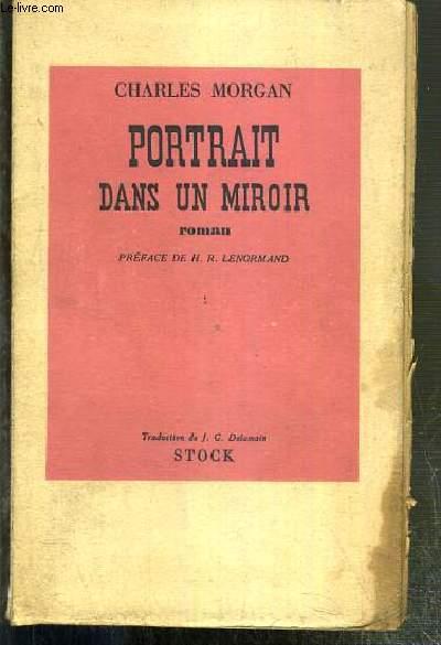 PORTRAIT DANS UN MIROIR - ENVOI DE L'AUTEUR.