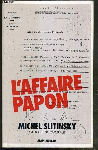 L'AFFAIRE PAPON