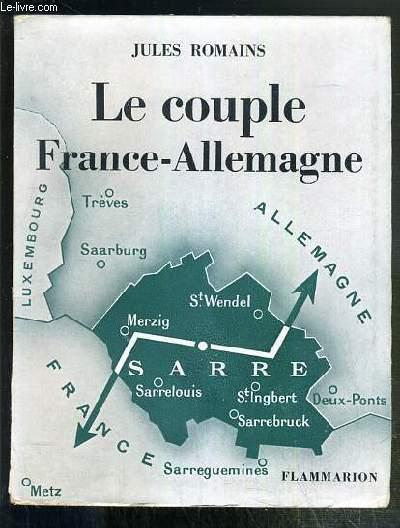 LE COUPLE FRANCE-ALLEMAGNE