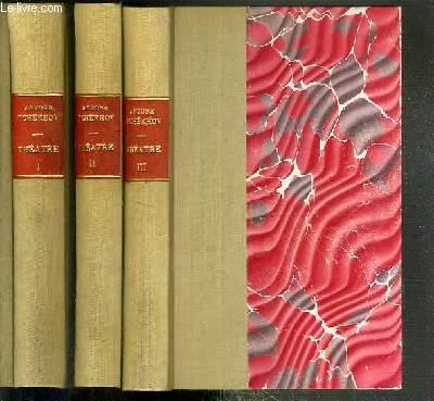 THEATRE - 3 TOMES EN 3 VOLUMES / COLLECTION D'AUTEURS ETRANGERS TOME XIV + XV + XVI.