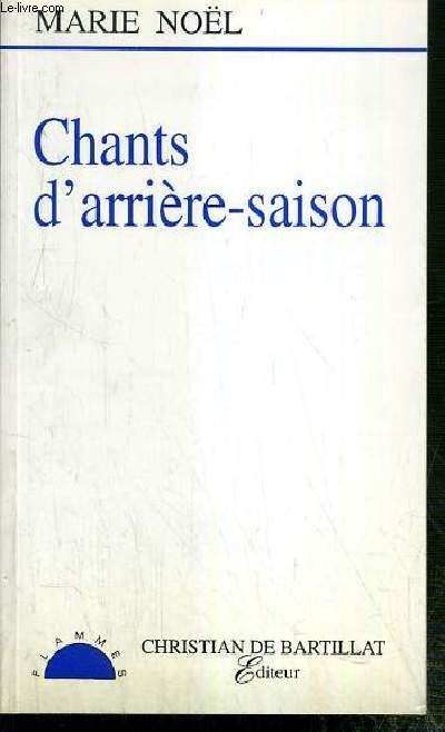 CHANTS D'ARRIERE-SAISON