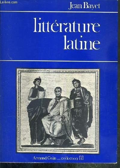 LITTERATURE LATINE / COLLECTION U.