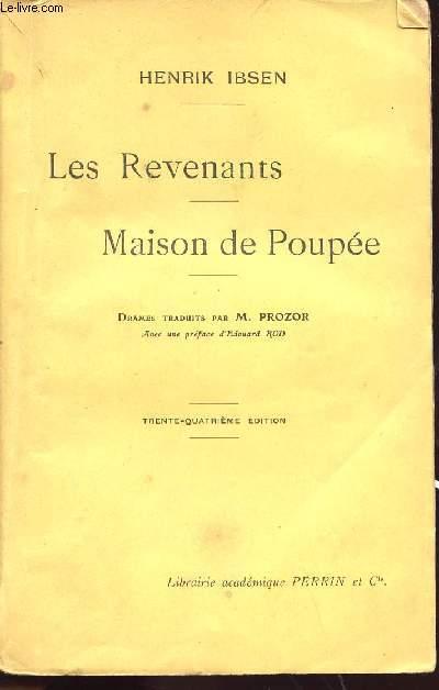 LES REVENANTS - MAISON DE POUPEE