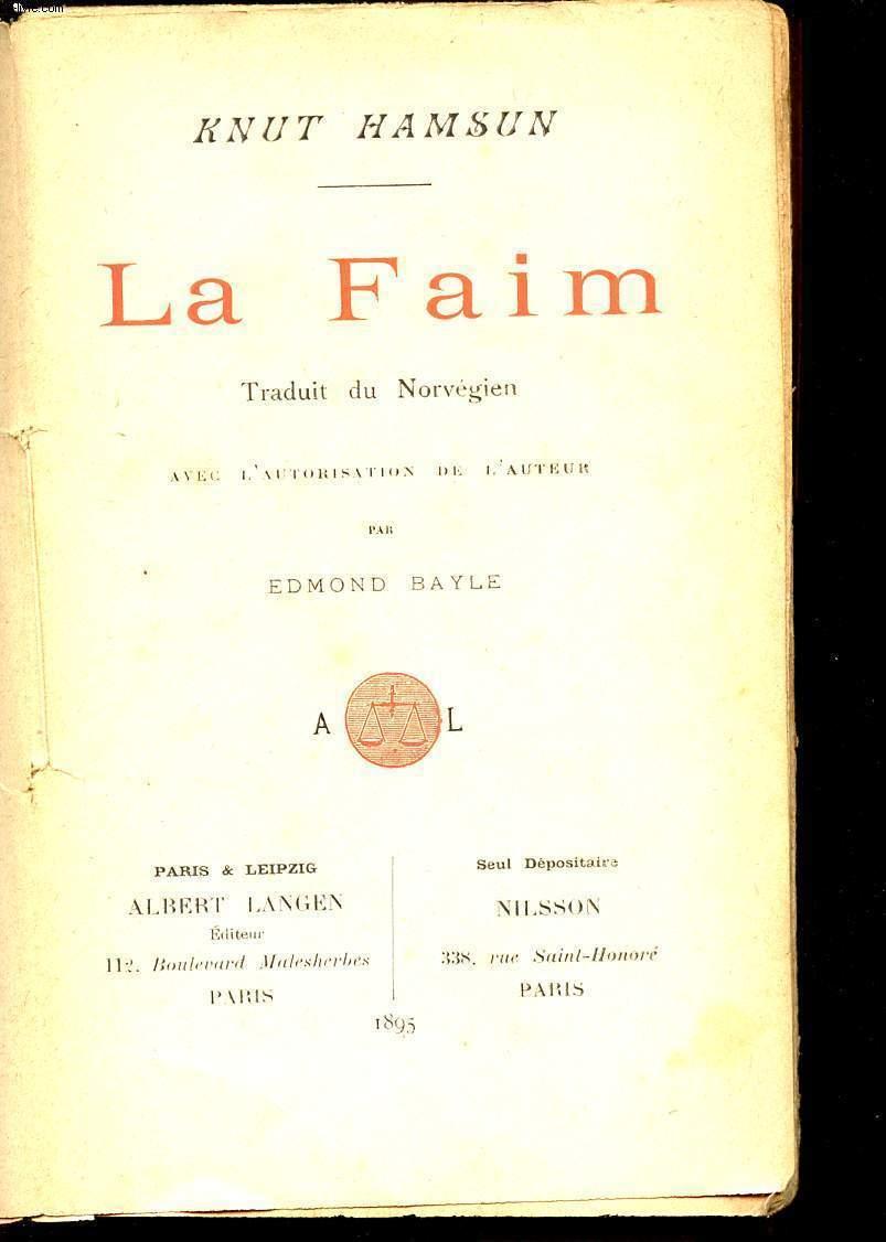 LA FAIM